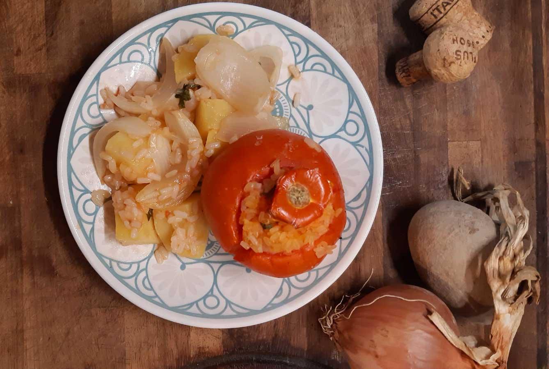 Pomodori tondi a grappolo km0 Roma